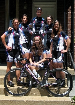Nicky with Primal Pro Women's Cycling Team